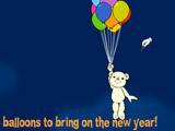 Happy New Year Balloon