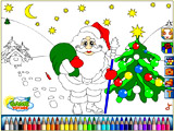 Santa Claus Coloring Game