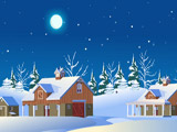 Christmas Snow Abode Escape