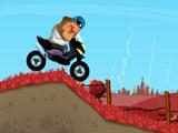 Gerard Course en Scooter vers Moscou