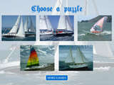 Sailing Boats Sliding Puzzle