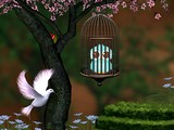 Fantasy Blue Bird Escape