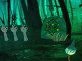 Halloween Awful Forest Escape
