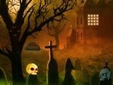 Halloween Runic Skull Point Escape