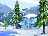 Penguin Rescue from Igloo House