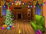 Winter Wooden House Escape