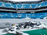 Abandoned Rugby Stadium