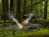 Plane Crashed Forest Escape