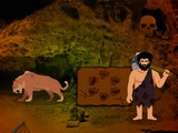 Paleolithic Man Escape