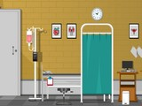 Escape from a Hospital ICU Room