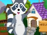 Cute Raccoon Rescue