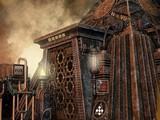 Steampunk Town Escape