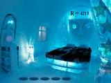 Modern Ice Hotel Escape