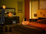 Halloween Light Show House Escape