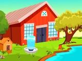 Cartoon Young Farmer Escape