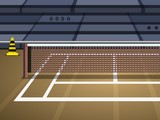 Tennis Court Escape