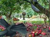 Archaeopteryx Bird Forest Escape