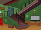 Dark Green Room Escape