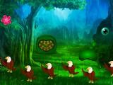 Native Green Forest Escape