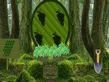 Green Bush Squirrel Forest Escape