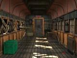 Abandoned Goods Train