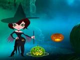 Halloween Green Pumpkin Escape