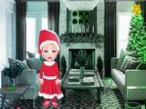Little Girl Christmas Gift Escape