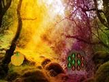 Fantasy Forest Woodpecker Escape