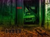 Abandoned Forest Car Garage Escape