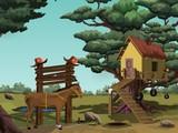 Gelding Horse Escape