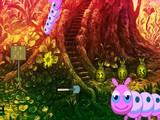 Fantasy Caterpillar Forest Escape