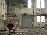 Abandoned Factory Wall Escape
