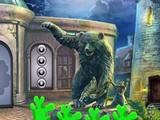 Blue Baby Dinosaur Escape