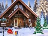 Snowfall Christmas Cabin Escape