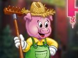 Domestic Farm Pig Escape