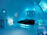 Glacier Ice Hotel Escape