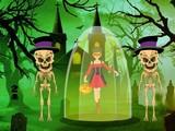 Escape Girl from Evil Skeleton