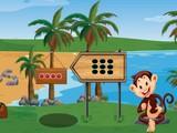 Help Hungry Island Monkey