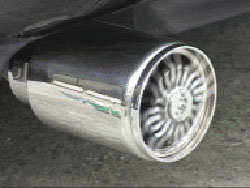 Spinner Exhaust Tips