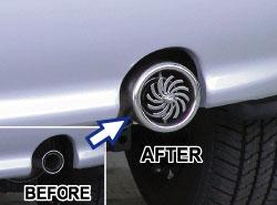 Spinner Exhaust Tips