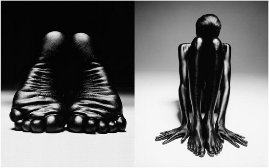 Эротика : Черным-Черно