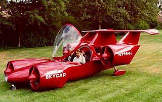 Первый летающий автомобиль Skycar