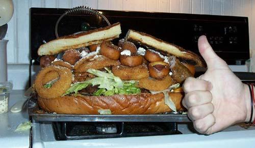 Сэндвич на 30.000 калорий