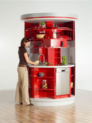 The Circular kitchen