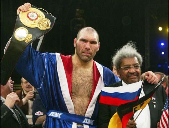 Николай Валуев - чемпион
