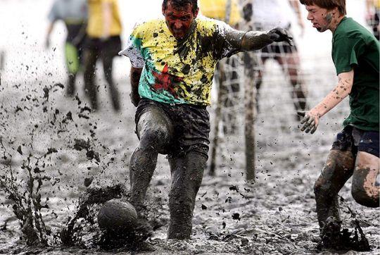 Грязный футбол - Чемпионат мира