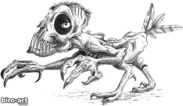 Забавные рисунки от Biro-Art