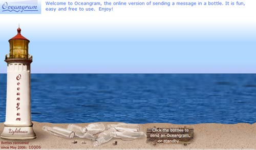 Oceangram - закинь бутылку в океан