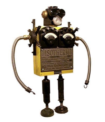 Забавные роботы Беннетта (70 фото)