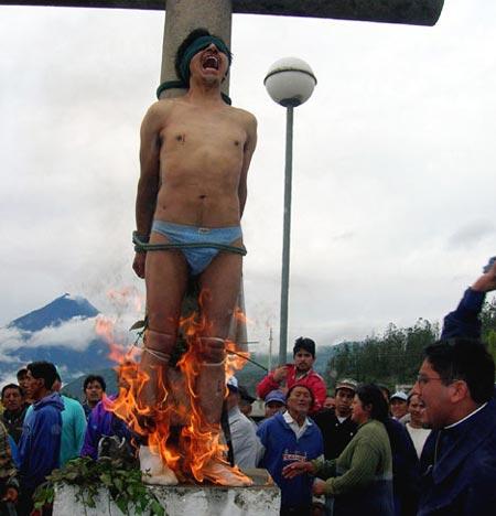 Как поступают с ворами в Эквадоре